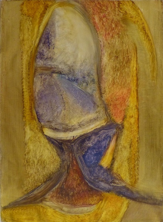 Fish Tail, oil on canvas 54x73 cm - Image 0