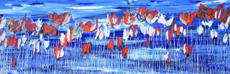 Poppies On Blue Sky 2 - Image 0