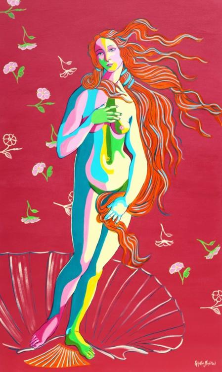 Venus and flowers - Image 0