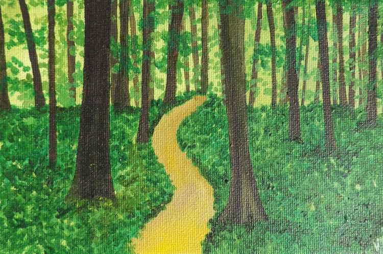 Green Woodland. -