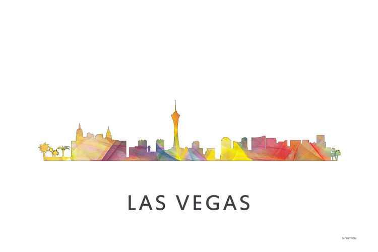 Las Vegas Nevada Skyline WB1 -