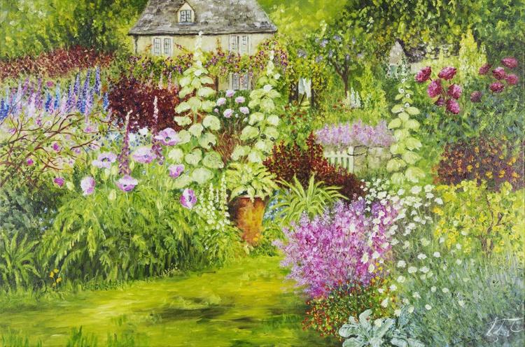 A Cottage Garden - Image 0