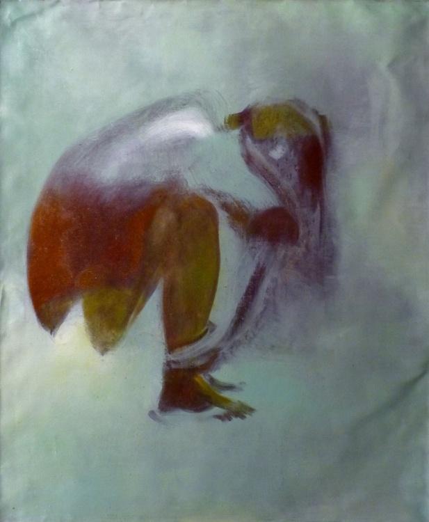 Flip-Flops, oil on canvas, 60x73 cm - Image 0