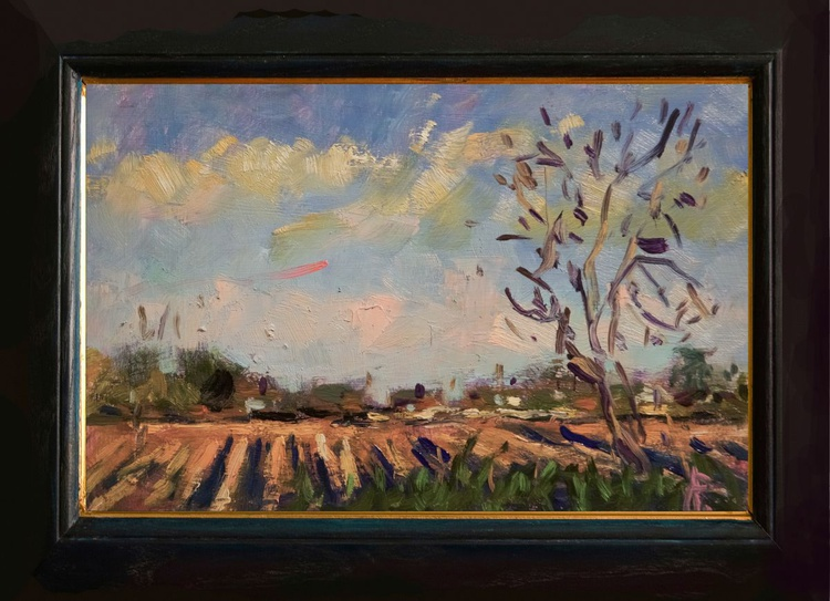 Ploughed Field at Yapton - Image 0