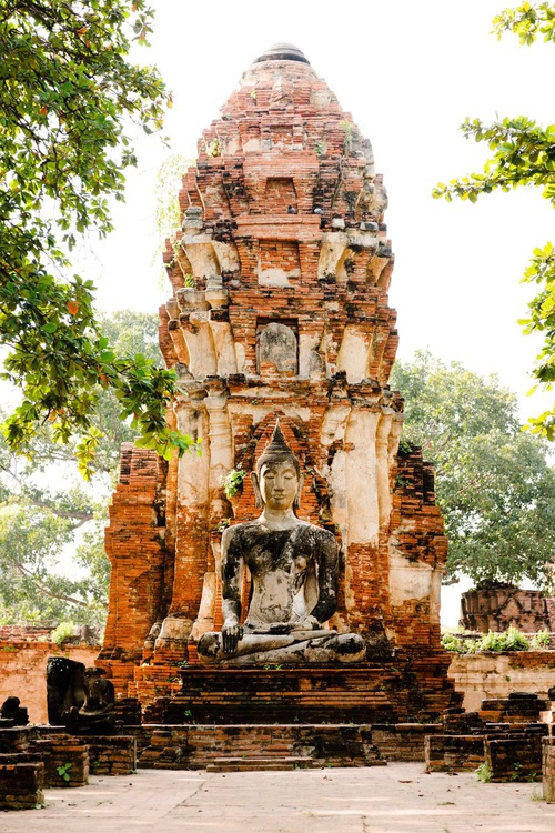 Wat Phra Mahthat, Ayutthaya. (42x59cm) - Image 0