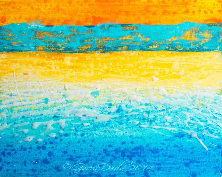 """Hot Horizon"" - Summer Beach Series"