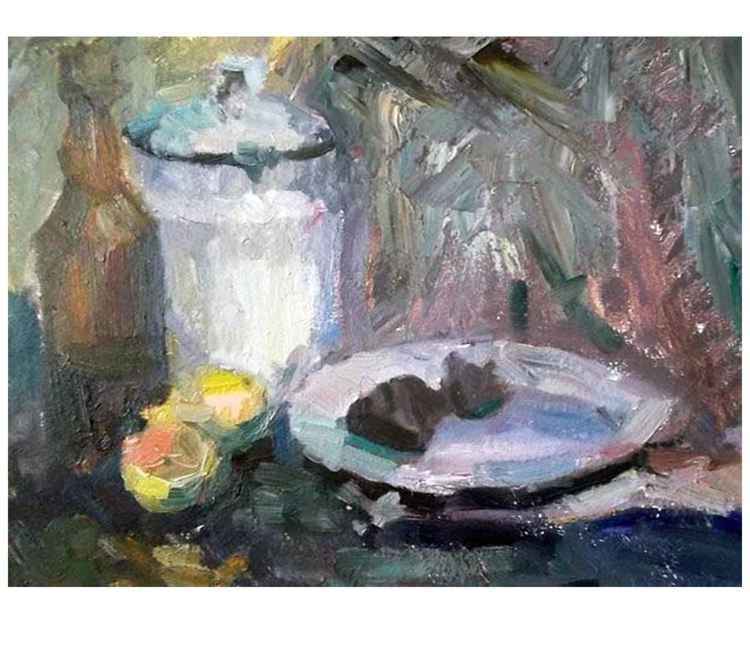 "Still Life ""in the kitchen"" -"
