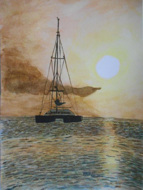 SAILING SUNSET - Image 0
