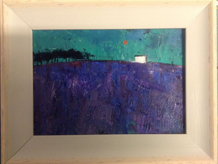 Lavender Hill ( framed original) - Image 0