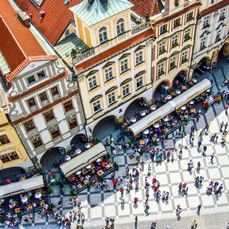 Old town square in Prague. - Image 0