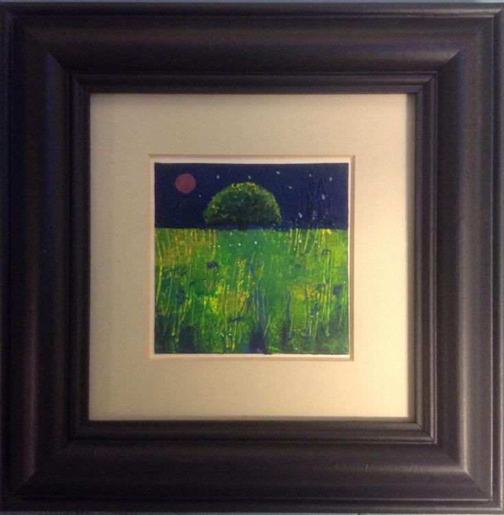 The Hush of the Night ( framed original) - Image 0