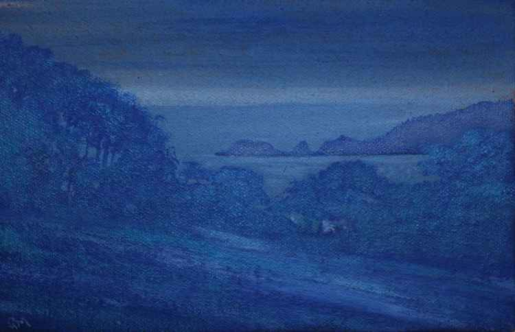 Blues before dawn Day#100/365 Postcards from Pembrokeshire -