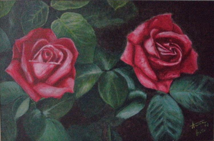 2 China Roses (order) - Image 0