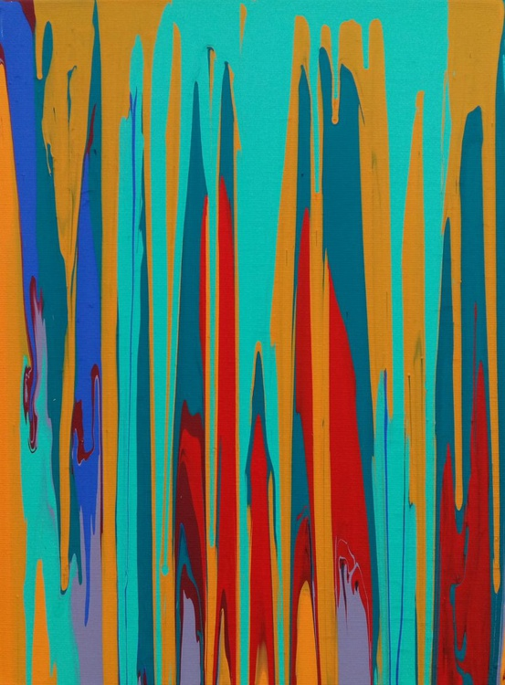 Autumn emotions, 30×40 cm, original art, FREE SHIPPING, decor / gift / present - Image 0