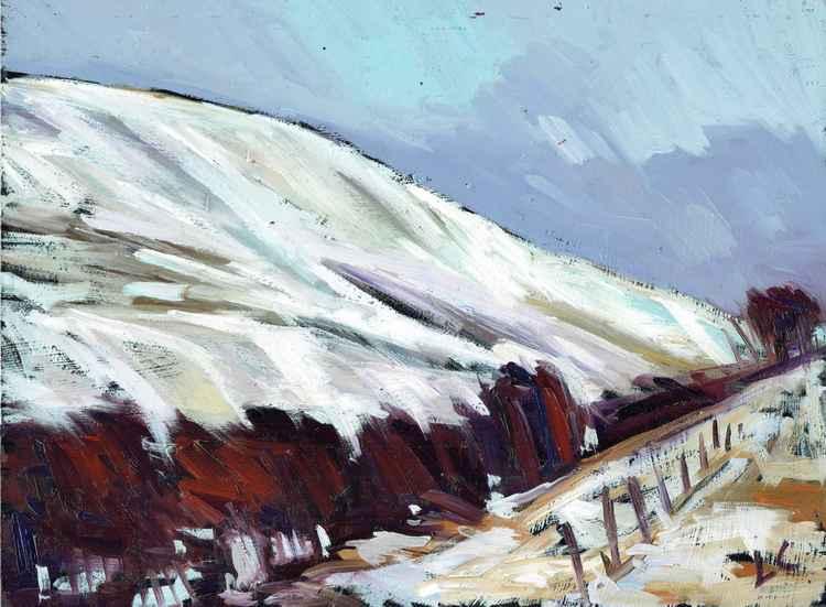 Garn-yr-ew Snow, Blaenavon -