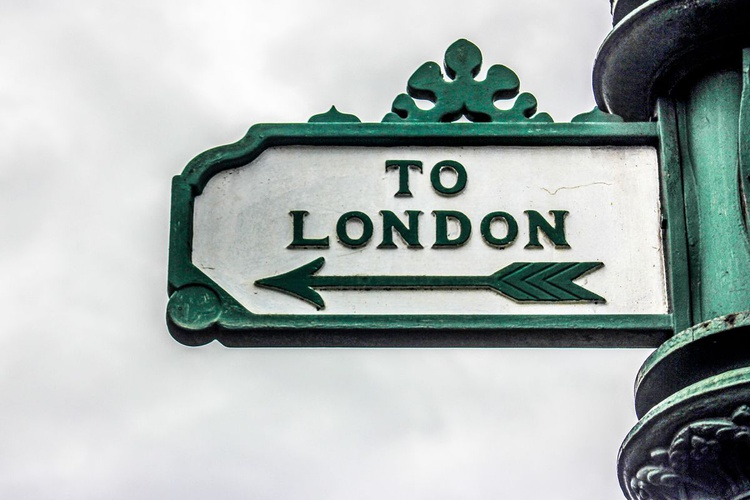 """LONDON CLOSE- TO LONDON <--  (Limited edition  1/150) 8""""X12"""" - Image 0"""