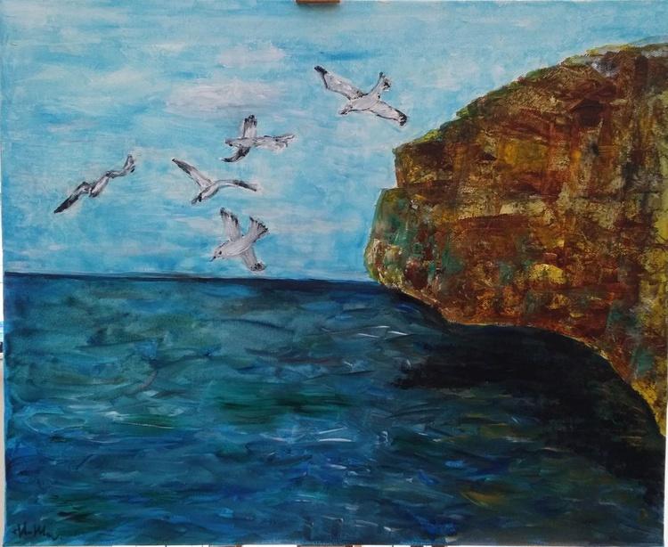 The Cliff of the Isle of Portland, Dorset - Image 0