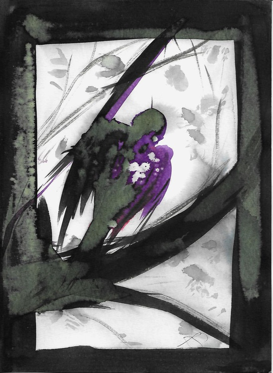 The Birds of Carros #56, 21x29 cm - Image 0