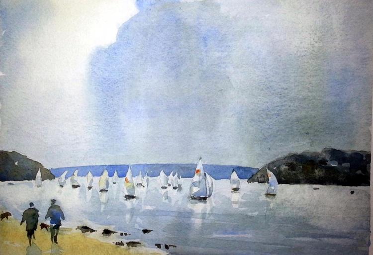 Sailing in the Salcombe Estuary - Image 0