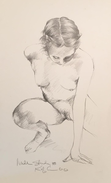 Nude Study #18 - Image 0