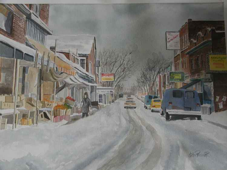 winter at kensington market -