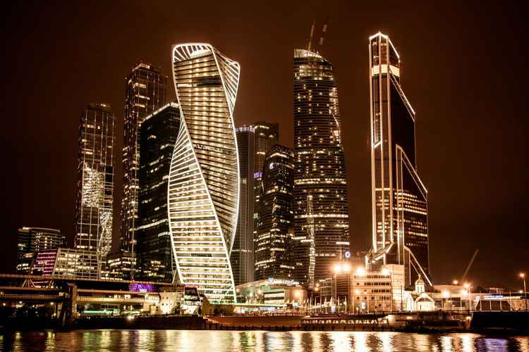 SKYSCRAPERS OF MOSCOW CITY -