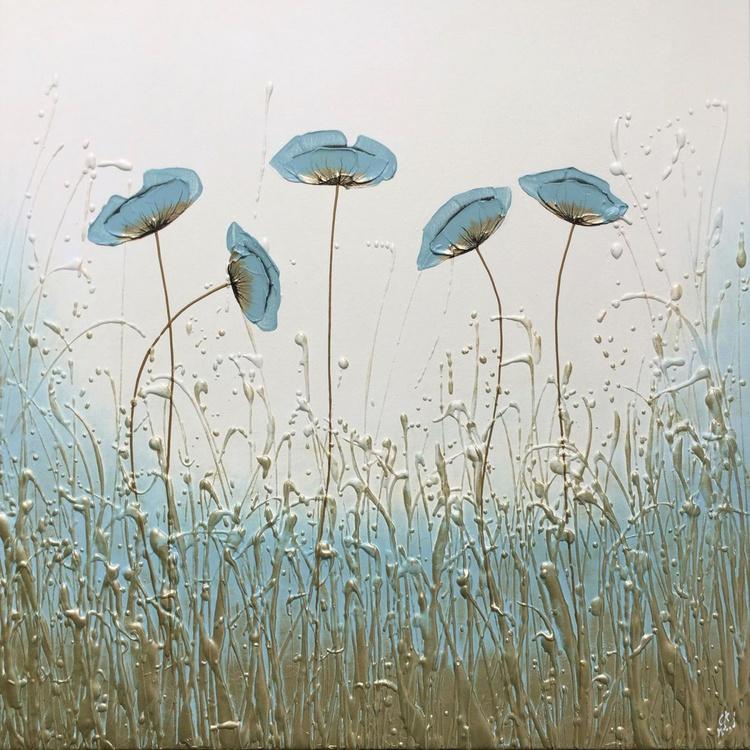 Blue Elegance Landscape - Image 0