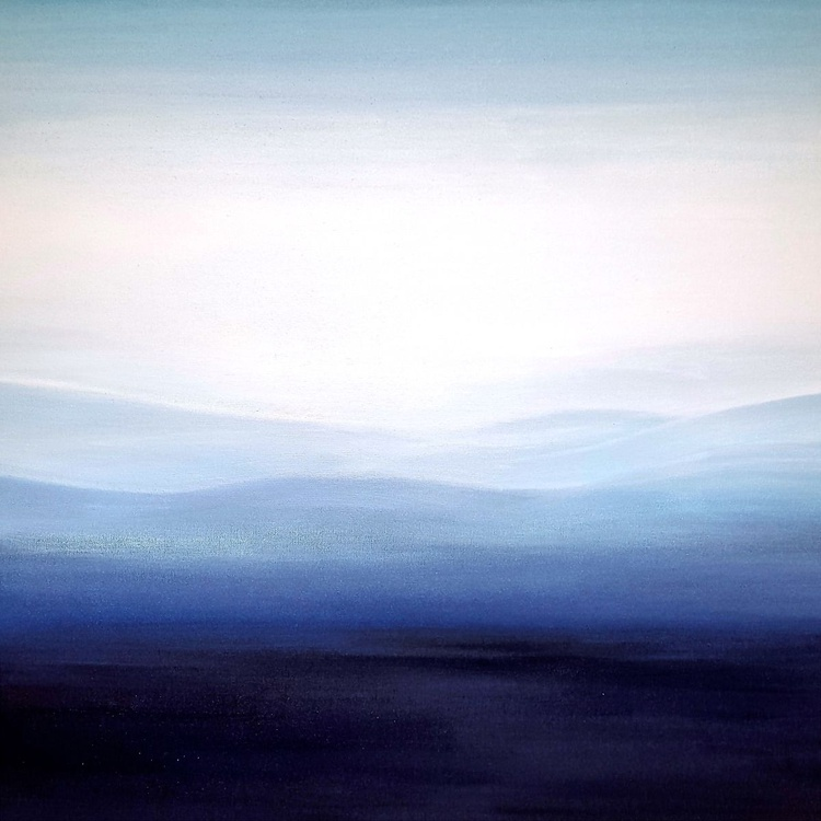 """Darkness Lifted"" 36""x36"" - Image 0"