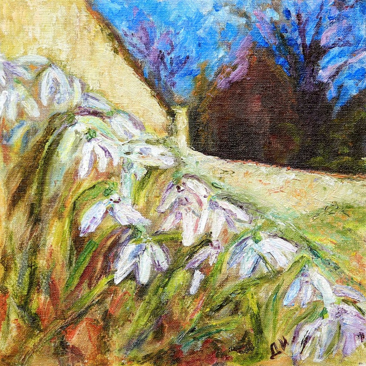 Snowdrops of Provence. - Image 0