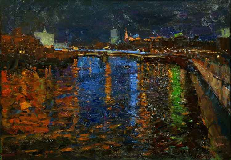 Moscow river -