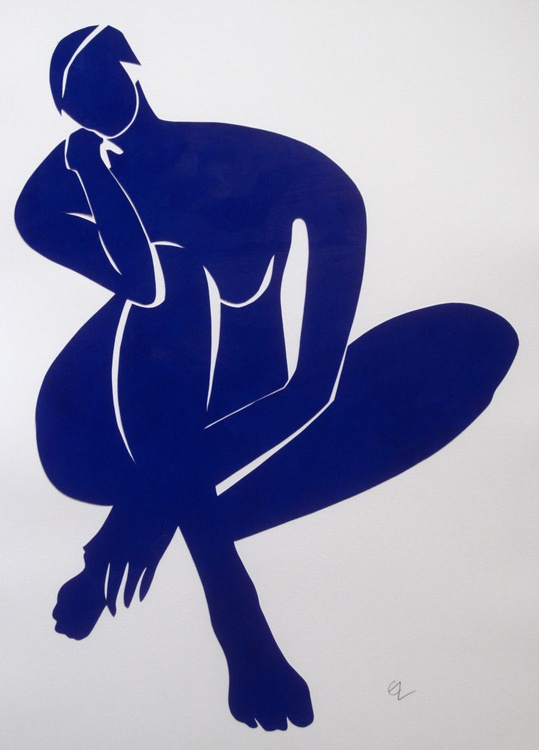 Erica in Navy Blue - Image 0
