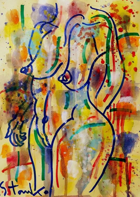 Rainy sketches(on jazz)-XI - Image 0