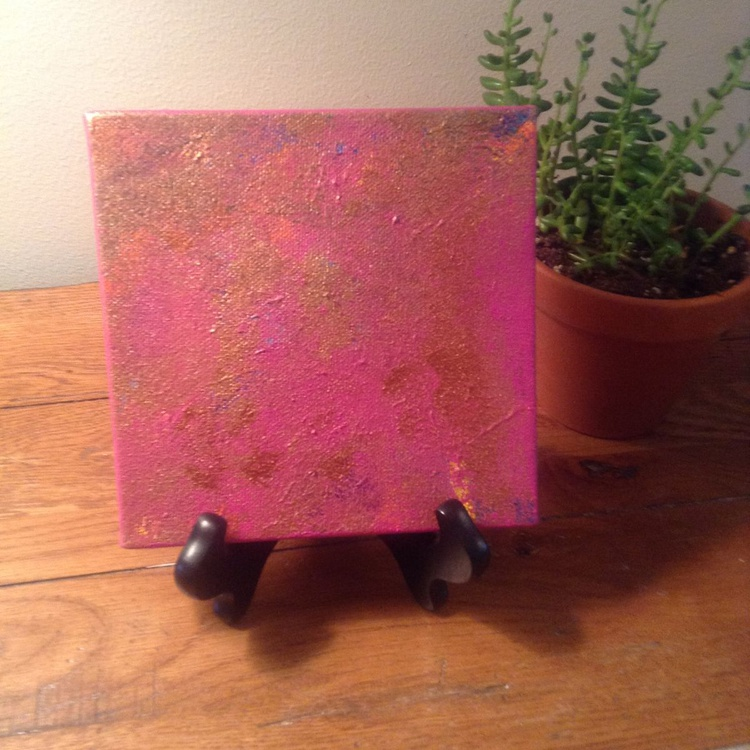Princess Copper with Mini Easel - Image 0