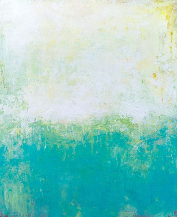 Turquoise Summer 20x24 inches - Image 0