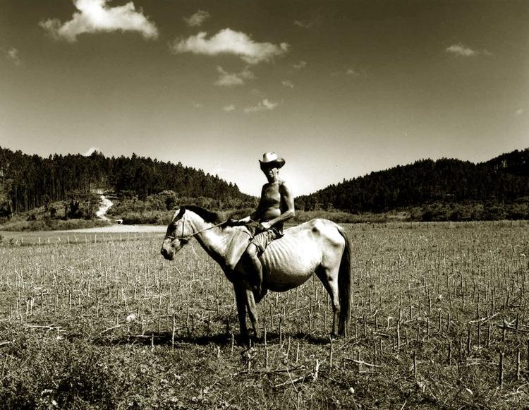 Man on Horse Cuba - Image 0