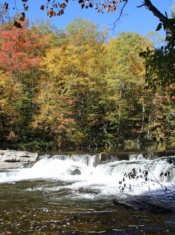 October on the Brodhead -