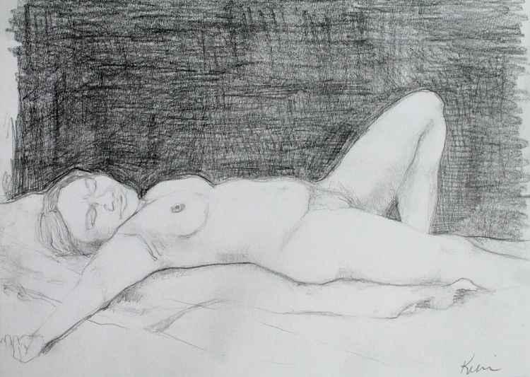 Resting Woman -