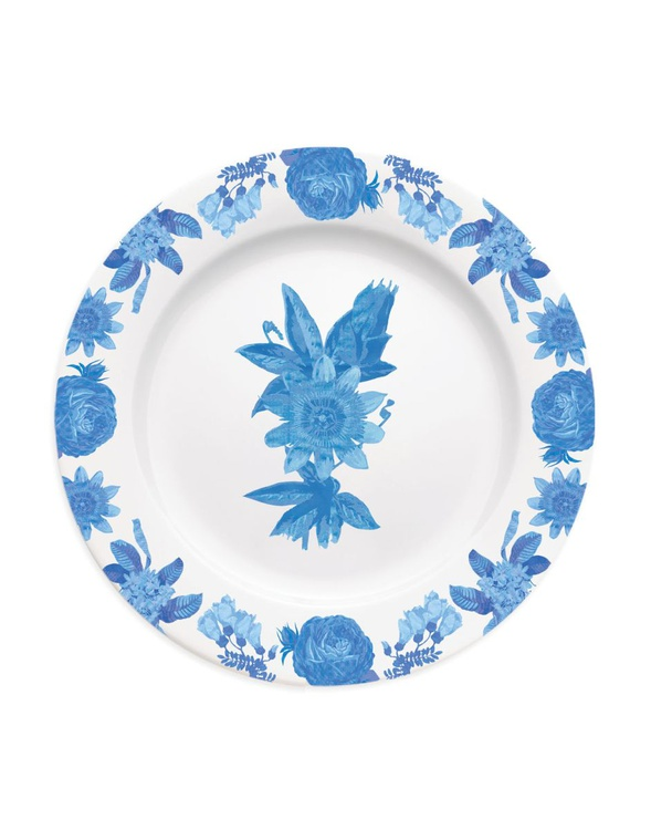 Chintz floral passionfruit plate - Image 0