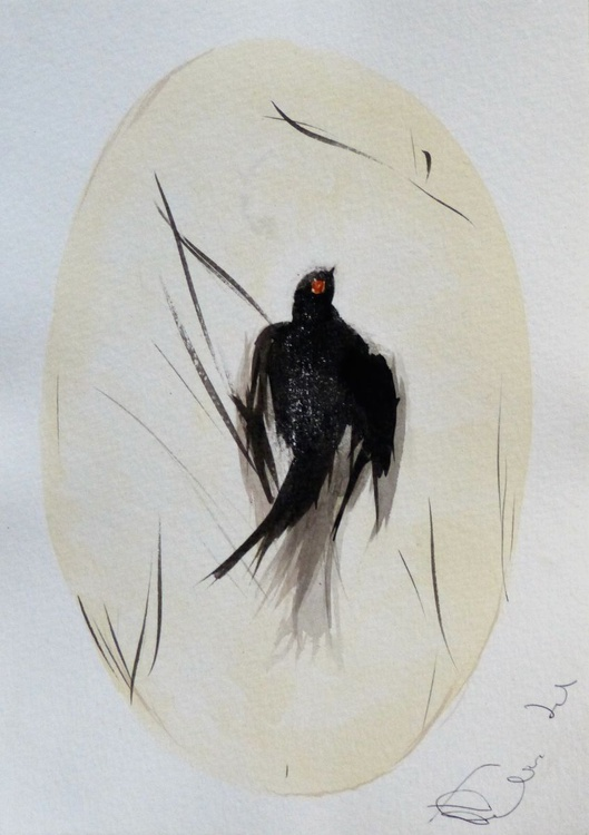 Birds of Carros #11, 15x21 cm - Image 0