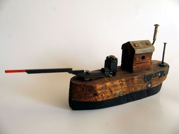 wooden ship - Image 0