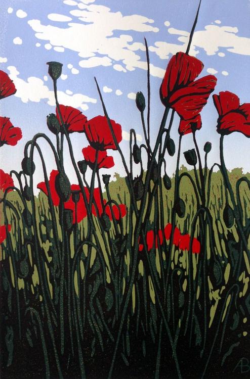 Roadside Poppies - Image 0