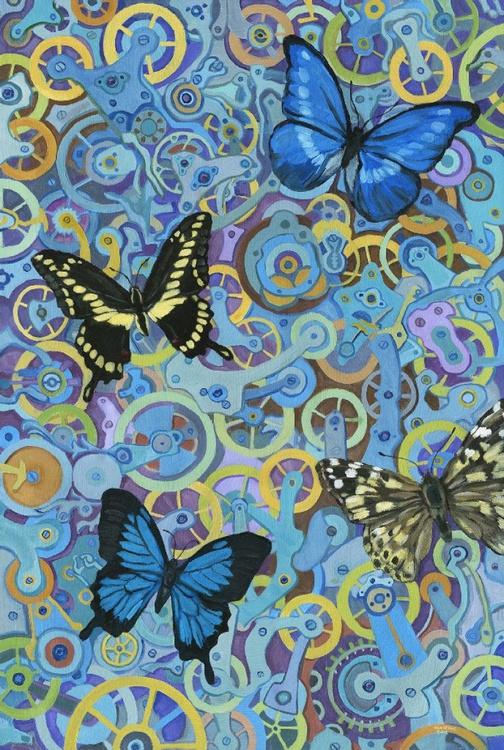 Clockwork Butterflies No. 6 - Image 0