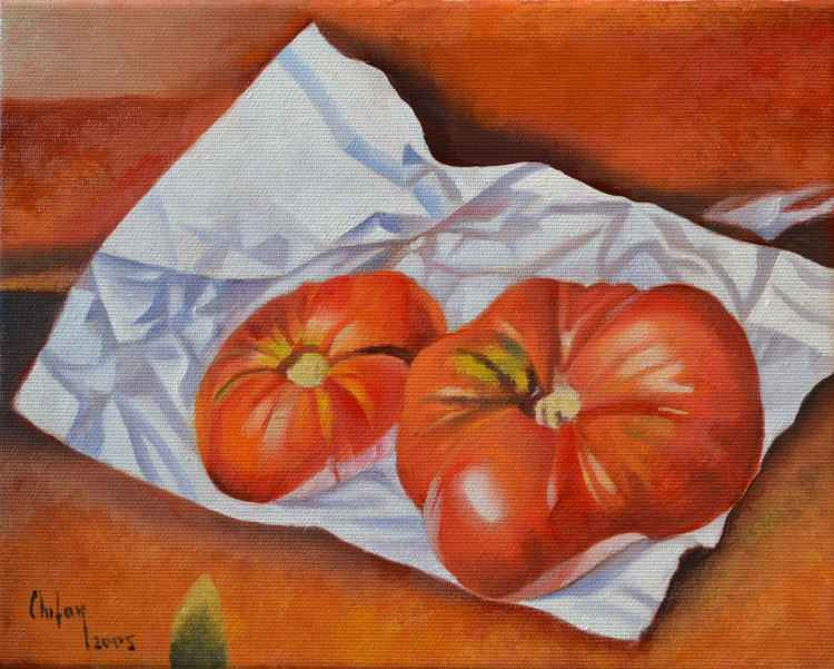 TWO RED TOMATOES ll -