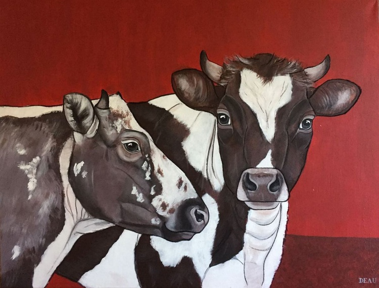 Dutch Cows | Witrik & Friese Roodbont - Image 0