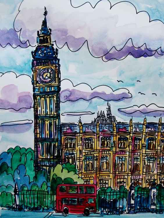 Big Ben, London -