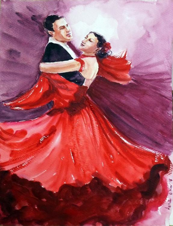 """It takes two to tango! 9""""x 12"""" - Image 0"""