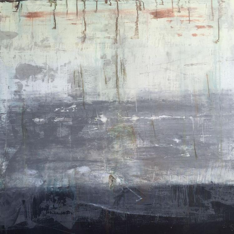 """""""1090 abstract grey wall No.5"""" - Image 0"""