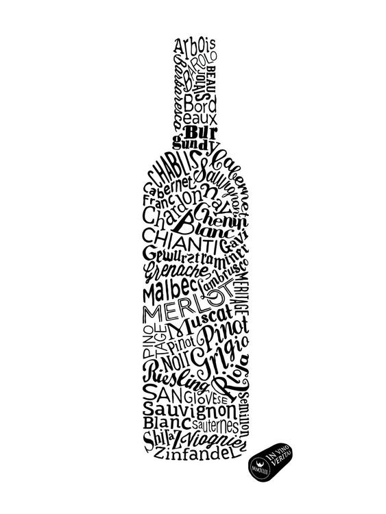 WINE TYPES SMALL (White) - Image 0
