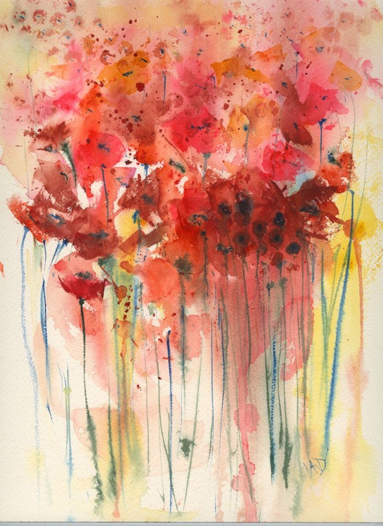 Poppies in the Sunlight - Image 0