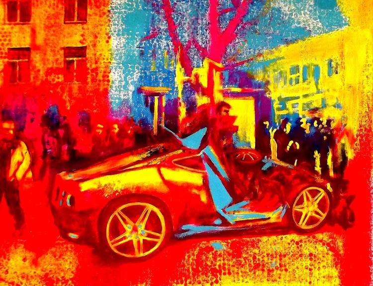 Crashed Bugatti Super Veyron - Image 0